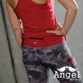 Support our troops capris back